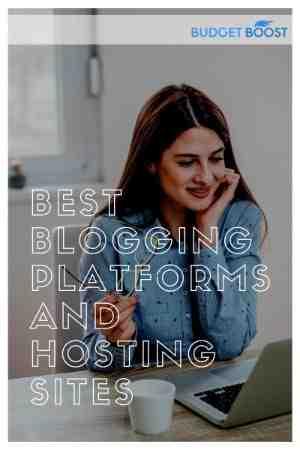 Principales plates-formes de blogs